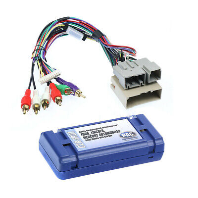 Radio Replacement Interface for Select 2005-up CAN-bus Ford, Lincoln and Mercury Bus Radio Replacement Interface