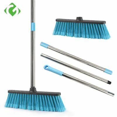 Floor Cleaning Broom Adjustable Long Handle Plastic Brooms Scrubber Sweeper Tool Floor Cleaning Sweeper Tool