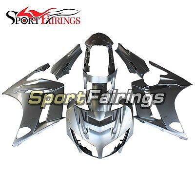 Silver Bodywork For Yamaha FJR1300 2007-2011 07-11 Fairing Set Body Kit