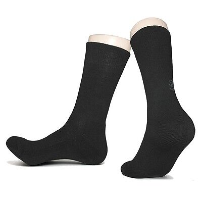 """3 Pairs Mens Outdoor Trekking Hiking Socks """"Skin contact surface is 100% cotton"""""""