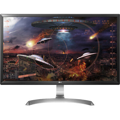 "LG 27"" 4K Ultra HD IPS LED Gaming Monitor with AMD FreeSync"