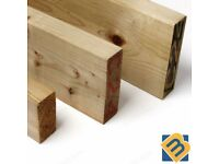 Treated Timber 2x2 3x2 4x2 6x2 8x2 - Tanalised Pressure Treated Timber C16 C24