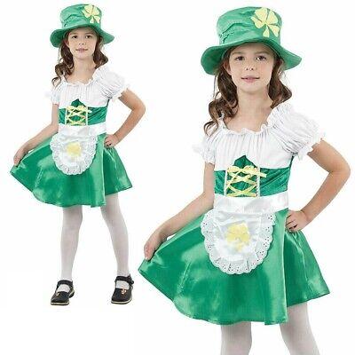 Kobold Mädchen Kostüm st Patrick Paddy Irisch Kostüm Outfit Kinder - St Patrick Kostüm Kinder