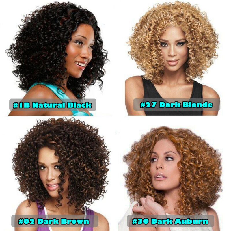 Afro Hair Thick Full Head