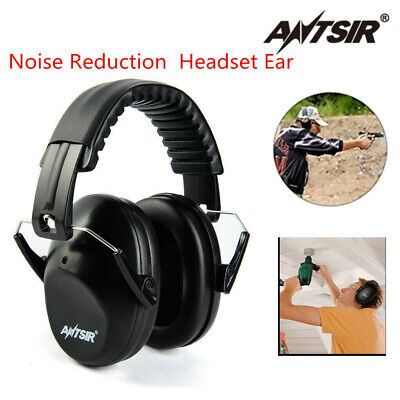 258c813ab5e ANTSIR Noise Reduction Ear Muffs Nrr 26Db Shooters Hearing Protector  Earphones