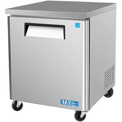 Turbo Air Muf-28 28 Commercial Undercounter Freezer Single Door Stainless