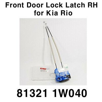 OEM Door Lock Latch Actuator Front Right 813211W040 for Kia Rio / Pride 2012+