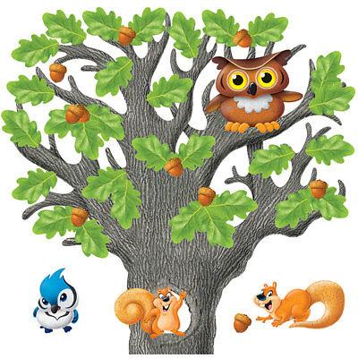 Big Tree Bulletin Board - Big Oak Tree Bulletin Board Set Trend Enterprises Inc. T-8026