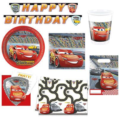 Disney Cars 3 Kindergeburtstag Auswahl Deko Party Dekoration Geburtstag NEU ()