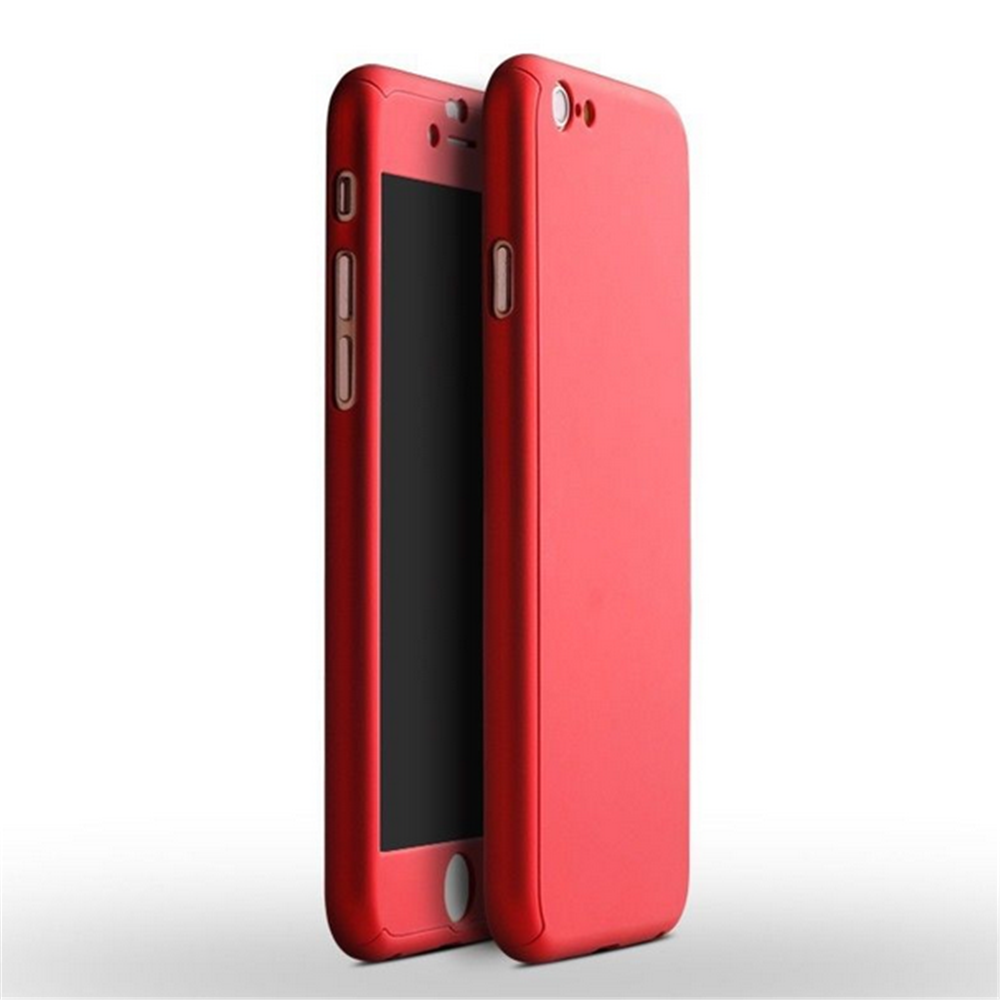 Clearance Hybrid Slim Acrylic Hard Case Tempered Glass Case for iPhone 6 6s Plus