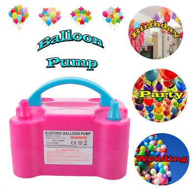 110V Portable Electric Balloon Pump Air Blower Balloon Inflator Party Wedding US](Party Balloon Pump)