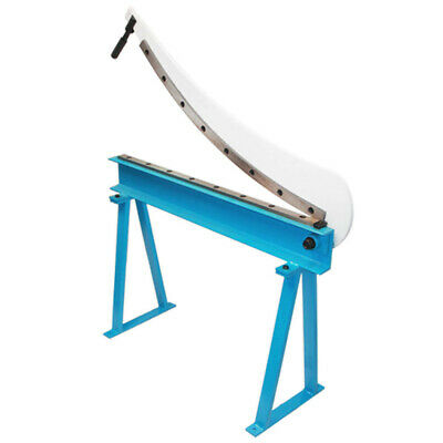 Manual 40 Guillotine Shear Plate Metal Cutter Cutting Floor Stand 16 Gauge