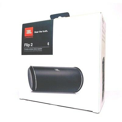 JBL Flip 2 Portable Wireless Bluetooth/ NFC Stereo Speaker (Black)