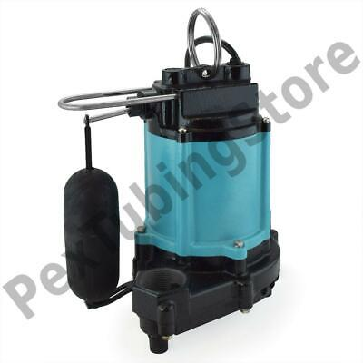Automatic Sumpeffluent Pump W Float Switch And 20 Cord 12 Hp 115v