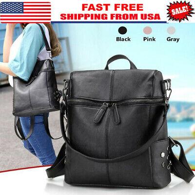Women Fashion Backpack Travel Leather Handbag Shoulder Bag School Book Bags New
