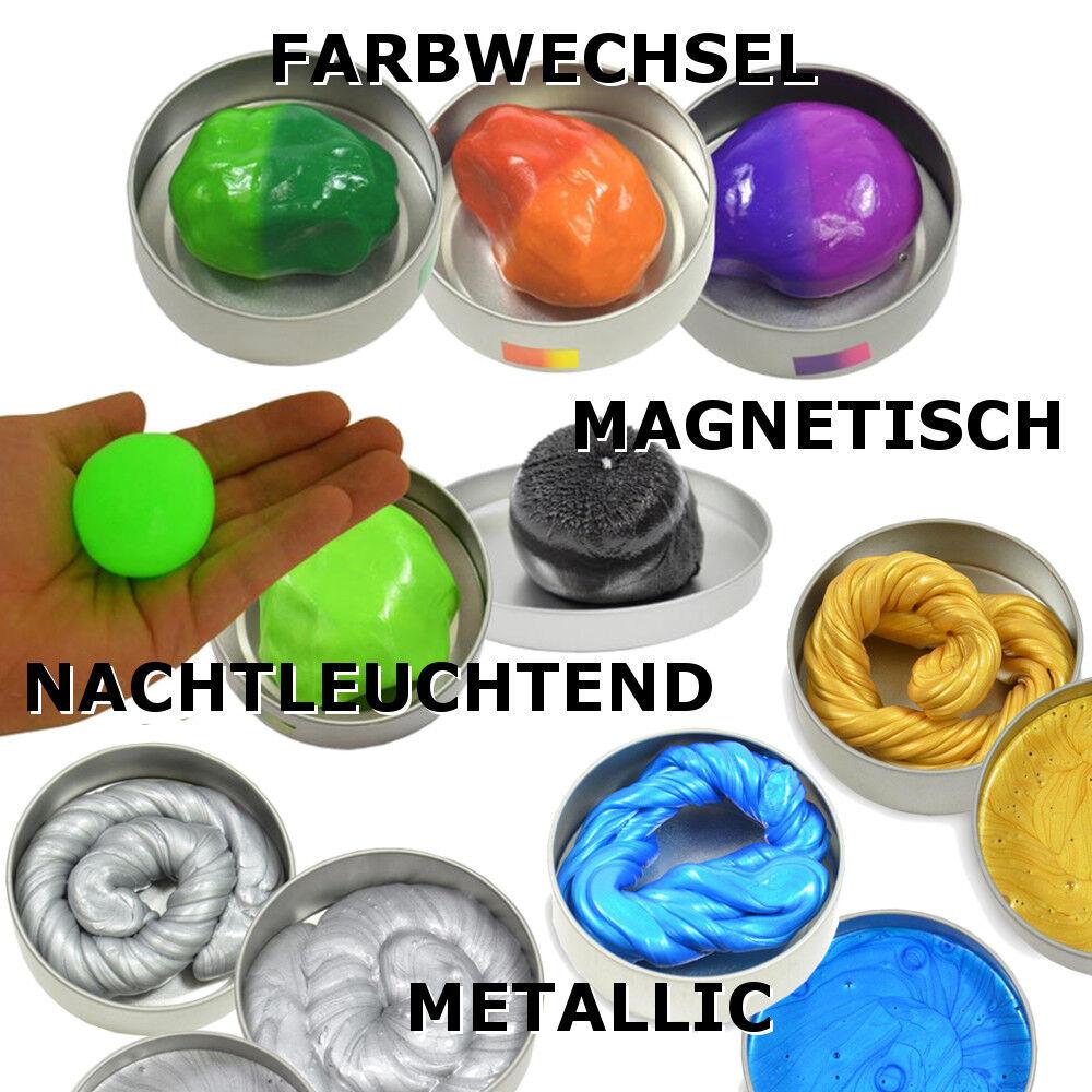 i Clay intelligente Superknete magische Knete Zauberknete magnetisch usw.