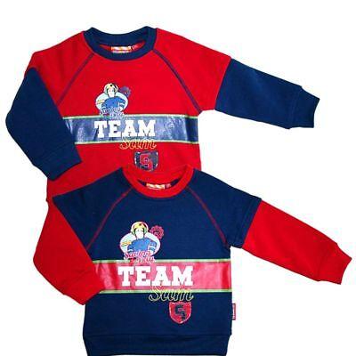 Jungen Sweatshirt | Feuerwehrmann Sam | Größe 92 | Kinder Pullover