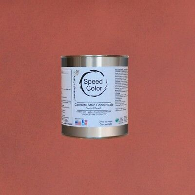 Fast Drying Concrete Paint 24oz Concentrate Yields 1 Gal Adobe Fire Color
