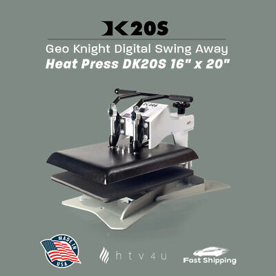 Geo Knight Dk20s 16 X 20 Swing-away Heat Press