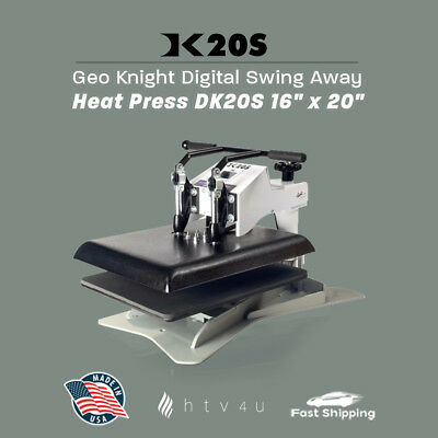 Geo Knight Dk20s 16 X 20 Swing-away Heat Press