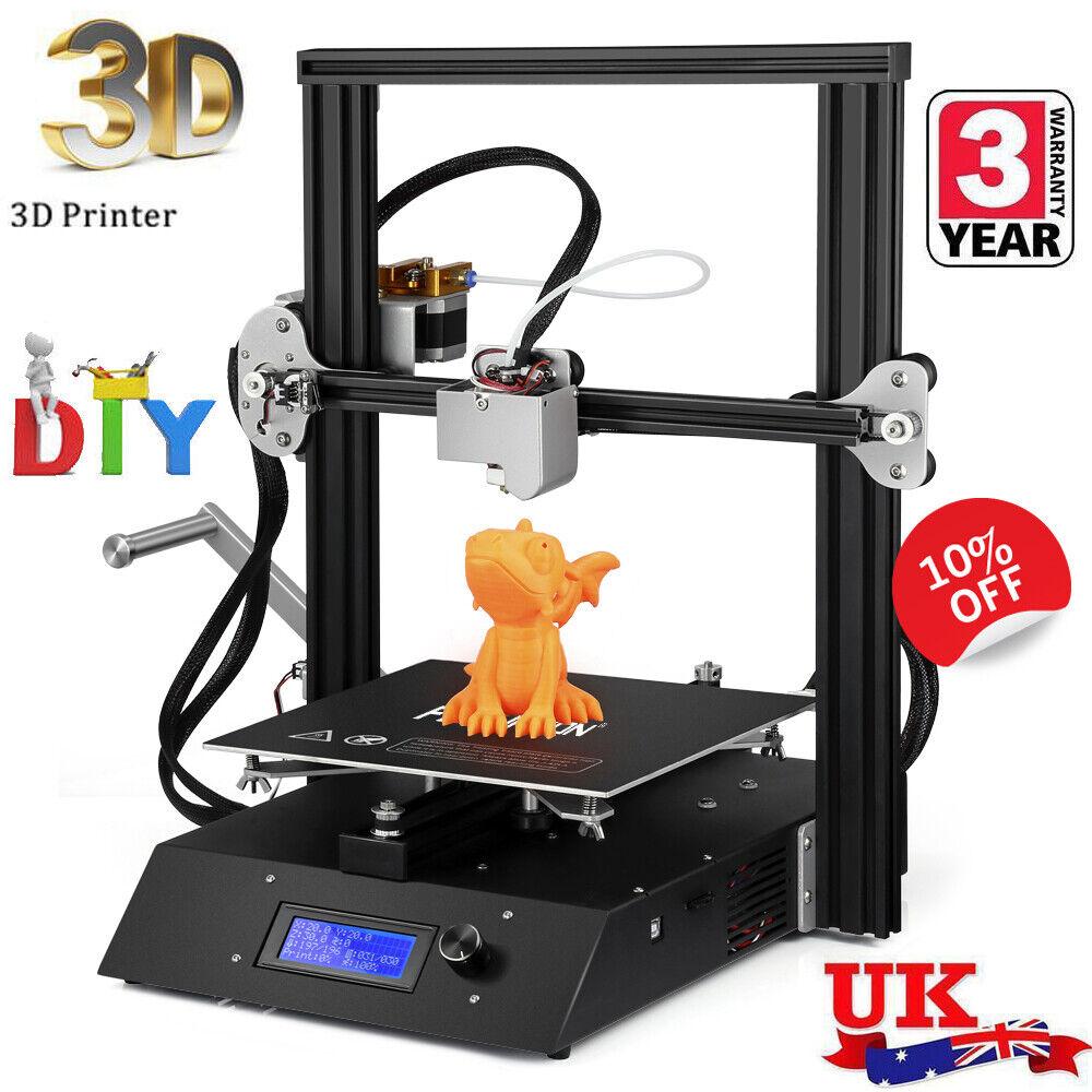 Laptop Windows - High Precision 3D Printer DIY Kit Full Metal Frame LCD Display 230 x 230 x 230mm