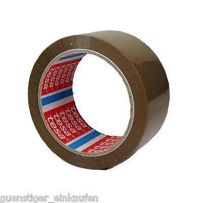 Tesa Cinta de Embalaje Braun 50mm X 66m Material Paquetería Adhesiva Tesafilm