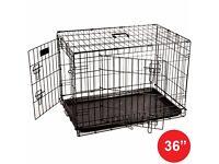"Brand new dog crate 36"""