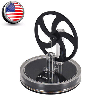 Mini Low Temperature Stirling Engine Motor Model Steam Heat Educational Toy Kits