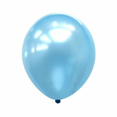 12 inch 100x Light Blue Pearl Latex Thick Party Balloons 3.2g Helium Floating](Lighted Helium Balloons)