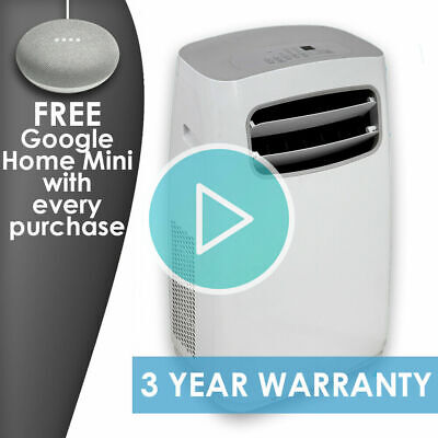 Comfee Portable Air Conditioner Unit 12000 BTU Free Wi-Fi & Google Mini £45