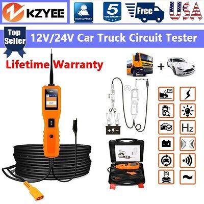 12V/24V Car Power Probe Electrical Tester Circuit Test Avometer Diagnostic Tool