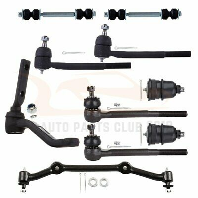 Kit For Chevrolet S10 Blazer RWD/2WD Suspension Ball Joint Tie Rod End Idler Arm