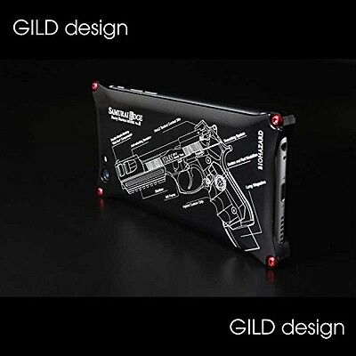 GILD design BIOHAZARD Limited for iPhone6&6s SAMURAIEDGE Black from Japan NEW FS