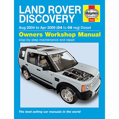 LAND ROVER DISCOVERY 3 2.7 V6 TD 2004-09 HAYNES WORKSHOP MANUAL