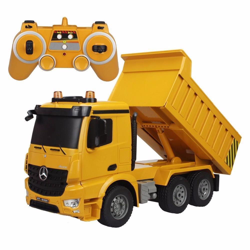 RC Truck Dumper Demo Function With Lights and Sound Model Hobby Model Kid's Toys