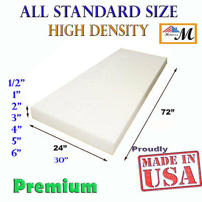 High Density Upholstery Seat Foam Cushion Replacement Per Sh