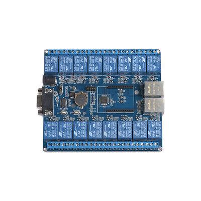 16 Channel P2p Tcpip Wifi Relay Board Controller Wireless Remote Rs232 Rj45