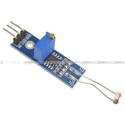 Lm393 Optical Photosensitive Light Sensor Module For Arduino Shield Dc 3-5v