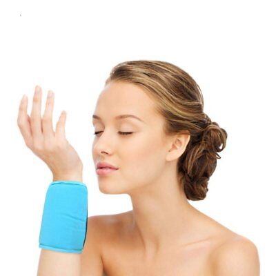 FOMI Wrist Ankle Hot Cold Ice Wrap | Soft Gel Pack for Sports Injuries,...