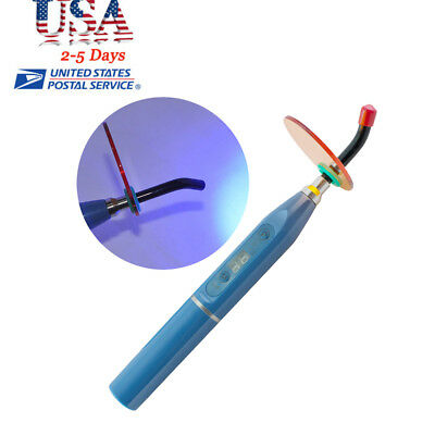Usa New Dental 5w Wireless Cordless Led Curing Light Lamp 1500mw Cl2b Blue Sale