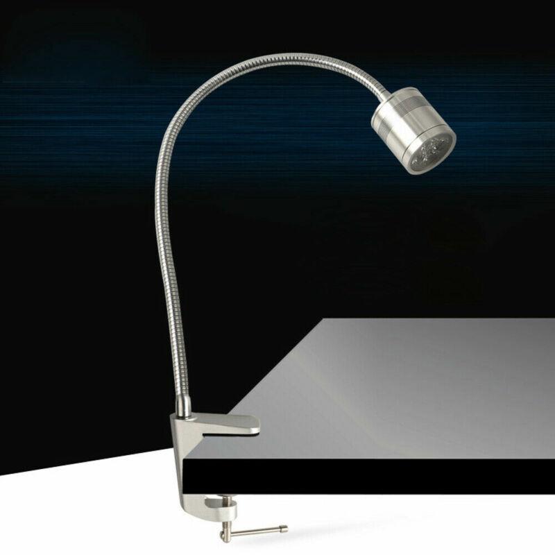 CNC Machine Lamp Working Light With Clamp Gooseneck Work Lathe LED NEW US
