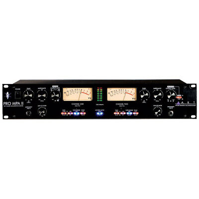 ART Pro MPA-II 2-Channel Tube Microphone Preamplifier FREE N