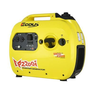 Eco Us Ep2200i Gas Powered Inverter Generator - 1800 Rated 2200 Peak Watts