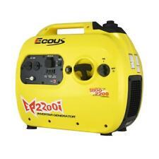 Eco US EP2200i Gas Powered Inverter Generator - 1800 Rated & 2200 Peak Watts