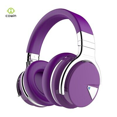 COWIN E7 Active Noise Cancelling Headphones Bluetooth Headset Over Ear Headphone