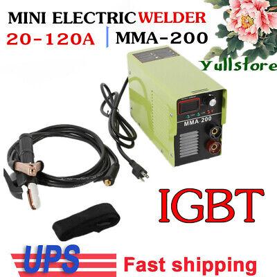 110220v 20-120 Amp Lcd Mma Stick Welding Igbt Inverter Welder Machine Arc