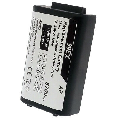 Honeywell Hhp Dolphin 99ex Scanners Replacement Extended Battery. 6700 Mah