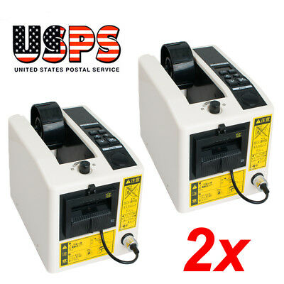 2pcs Automatic Tape Dispensers Adhesive Tape Cutter Packaging Machine Usa Stock