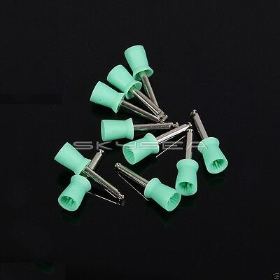 Usa 1000 Dental Polishing Prophy Polisher Green Cup Latch Fit Straight Handpiece