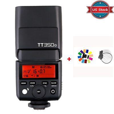 US Godox 2.4G TTL 1/8000s TT350o Flash Speedlite For Olympus / Panasonic + Gift